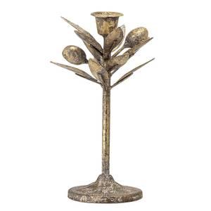 Bilde av Hollyday lysestake bronse  Ø:8xH:20 cm