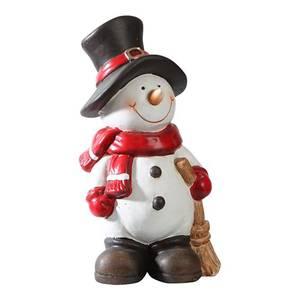 Bilde av Snømann med sopelim H:18 cm
