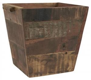Bilde av Trepotte firkantet m/grep i sidene UNIKA