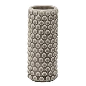 Bilde av Vase, brun, H: 13 cm steintøy
