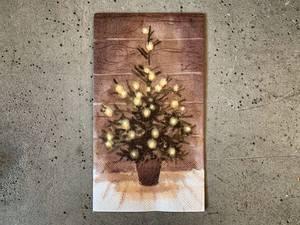 Bilde av Lite juletre 33x33 cm