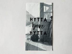 Bilde av Serviett Hytta kjære hytta
